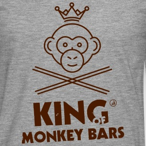 King of Affe Bars - Männer Premium Langarmshirt