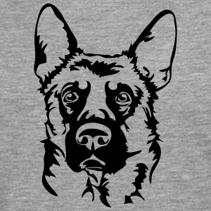 GERMAN SHEPHERD PORTRAIT - Men's Premium Longsleeve Shirt