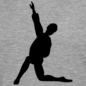 Vector Ballet dancer Silhouette - Men's Premium Longsleeve Shirt
