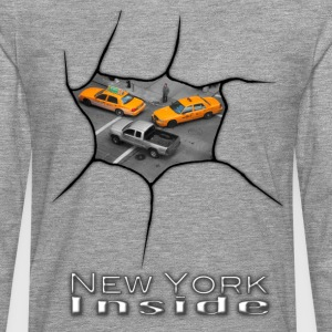 New York Inside - Men's Premium Longsleeve Shirt