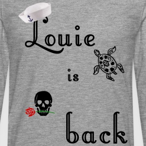 Louie is back, sailor vintage rockabilly t shirt - Men's Premium Longsleeve Shirt