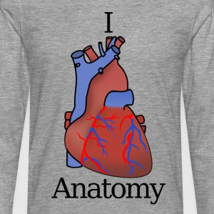 I Heart Anatomy B - T-shirt manches longues Premium Homme