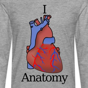 I Heart Anatomy B - Men's Premium Longsleeve Shirt