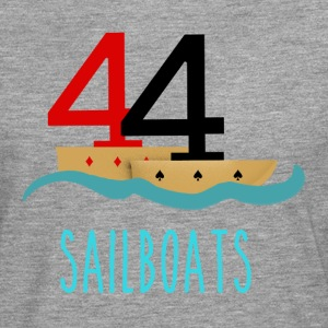 Poker 44 Sailboats - Men's Premium Longsleeve Shirt