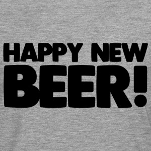 Happy New Beer! - T-shirt manches longues Premium Homme