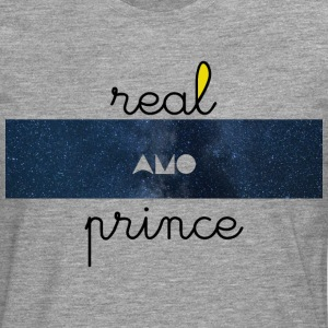 Real prince amo Galaxie - T-shirt manches longues Premium Homme