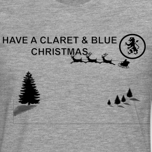 Claret and Blue Xmas - T-shirt manches longues Premium Homme