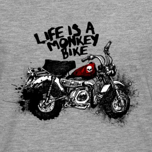 Monkey Bike - Camiseta de manga larga premium hombre