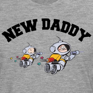 New Daddy (PERSONALIZE ADD DATE YEAR) - Men's Premium Longsleeve Shirt