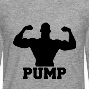 Pump it up - T-shirt manches longues Premium Homme