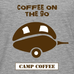 Coffee on the go - Men's Premium Longsleeve Shirt