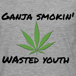 Ganja smokin 'youth - Men's Premium Longsleeve Shirt