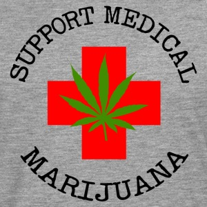 Medical Marijuana Support Legalize It - Men's Premium Longsleeve Shirt