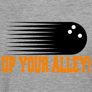 Funny Bowling UP YOUR ALLEY! - Men's Premium Longsleeve Shirt