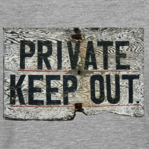 PRIVATE - Camiseta de manga larga premium hombre