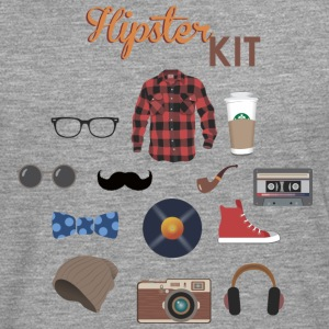 kit hipster - T-shirt manches longues Premium Homme
