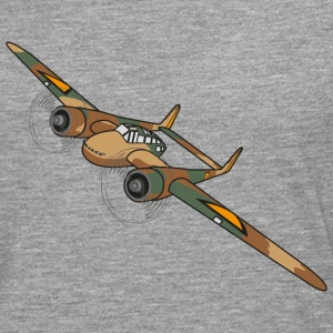 Fokker G1 Fighter Plane - Men's Premium Longsleeve Shirt