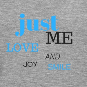 JUST ME, love, joy and smile! - Men's Premium Longsleeve Shirt