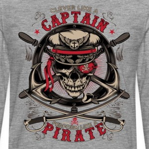 captain pirate - Men's Premium Longsleeve Shirt
