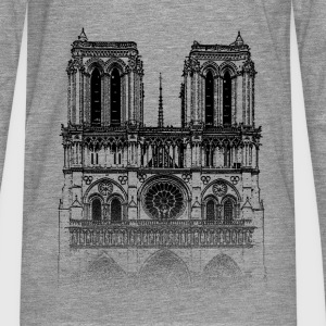 Around The World: Notre Dame - Paris - T-shirt manches longues Premium Homme
