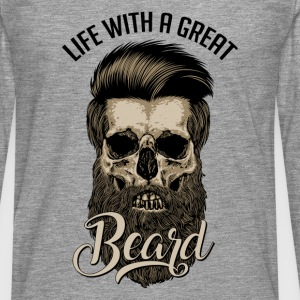 Great Beard - Men's Premium Longsleeve Shirt