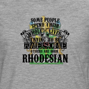 Rhodesian Awesome - Men's Premium Longsleeve Shirt
