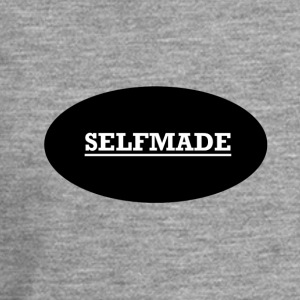 Self Made - Mannen Premium shirt met lange mouwen