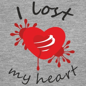 I lost my heart - Men's Premium Longsleeve Shirt