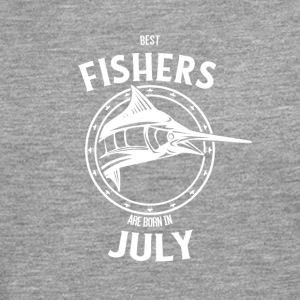 Present for fishers born in July - Men's Premium Longsleeve Shirt
