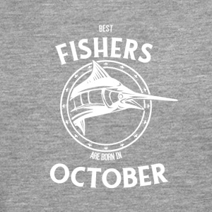 Present for fishers born in October - Men's Premium Longsleeve Shirt