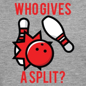 Bowling / Bowler: Who Gives A Split? - Men's Premium Longsleeve Shirt