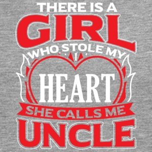 UNCLE - THERE IS A GIRL WHO STOLE MY HEART - Men's Premium Longsleeve Shirt