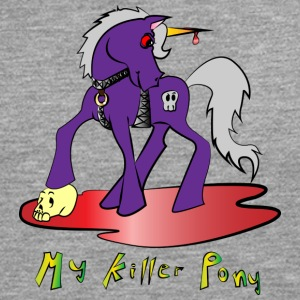 my killer pony - Camiseta de manga larga premium hombre