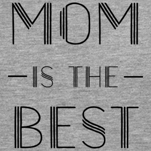 MUM IS THE BEST SHIRT - Premium langermet T-skjorte for menn