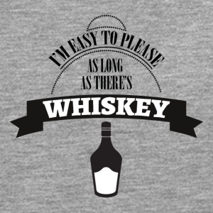 Whiskey - I'm ease to please as long ... - Men's Premium Longsleeve Shirt