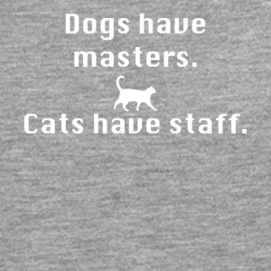 Cats have staff - Men's Premium Longsleeve Shirt