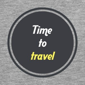 Time to travel - Circle - Men's Premium Longsleeve Shirt