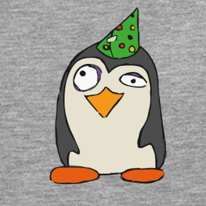Party Penguin Unicorn - Herre premium T-shirt med lange ærmer