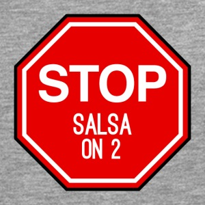 Stop Salsa on 2 - Dance Shirts - Men's Premium Longsleeve Shirt