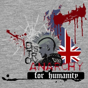 ANARCHY FOR HUMANITY - Men's Premium Longsleeve Shirt