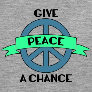 Hippie / Hippies: Give Peace A Chance - Herre premium T-shirt med lange ærmer