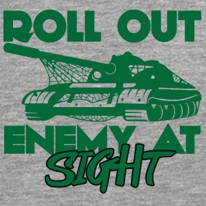 Military / Soldiers: Roll Out Enemy At Sight - Men's Premium Longsleeve Shirt