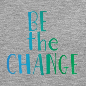 Hipster: Be the Change - Mannen Premium shirt met lange mouwen