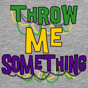 Mardi Gras Throw Me Something - T-shirt manches longues Premium Homme