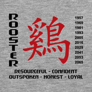Year of The Rooster Traits - Men's Premium Longsleeve Shirt