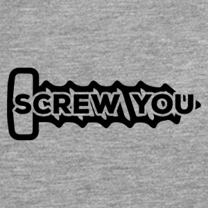 Mechanic: Screw You - Men's Premium Longsleeve Shirt
