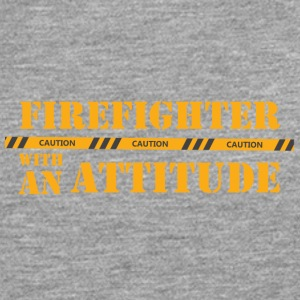 Fire Department: Firefighter with an Attitude - Men's Premium Longsleeve Shirt