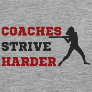 Coach / Trainer: Coaches Strive Harder - Männer Premium Langarmshirt