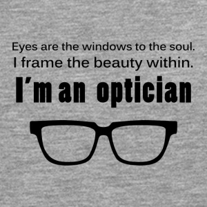 Optiker: Eyes are the windows to the soul. I frame - Männer Premium Langarmshirt