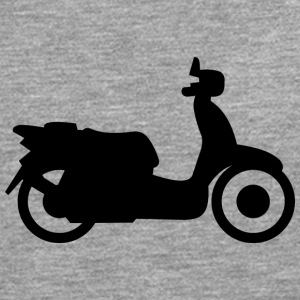 Vespa moped - Men's Premium Longsleeve Shirt